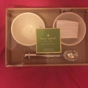 kate spade Other - NWT KATE SPADE ICE CREAM SET..ONE SCOOP OR TWO ❓